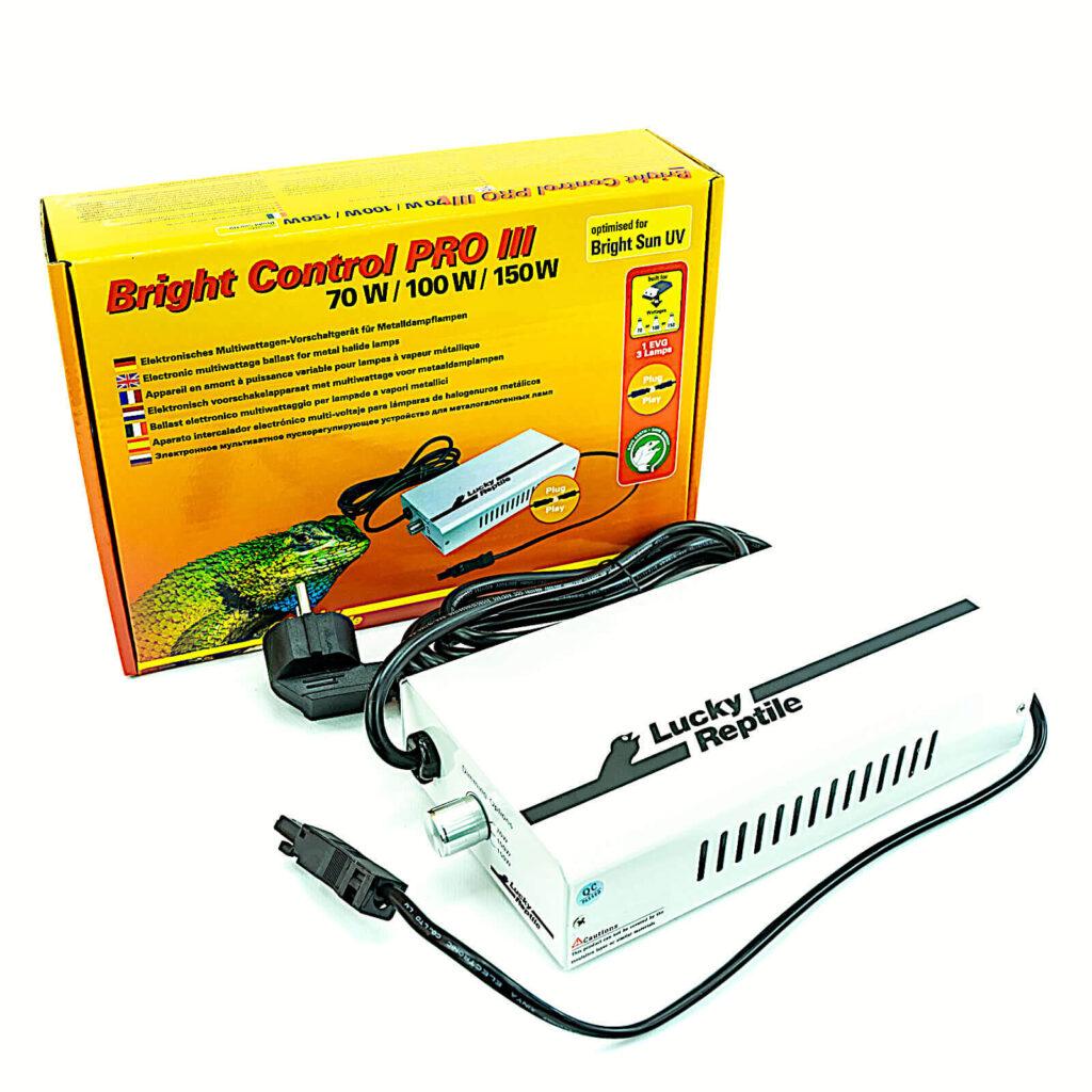 Bright Control Pro III - elektronisches Vorschaltgerät für 70, 100, 150 Watt Leuchtmittel